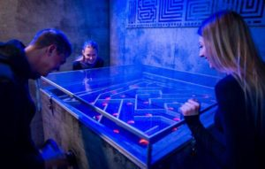labyrinth challenge at prison island escape room